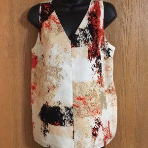 bar III sleeveless blouse.